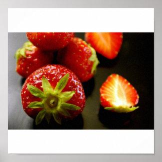 Strawberries Print