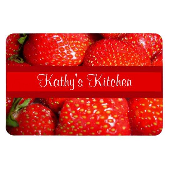 Strawberries Premium Magnet