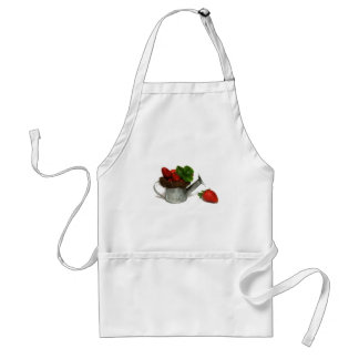 strawberries, standard apron