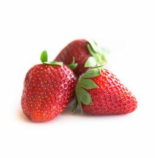 Strawberries Standing Photo Sculpture
