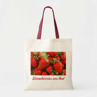 Strawberries Budget Tote Bag
