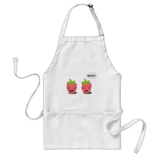 Strawberries (WTF?) Standard Apron