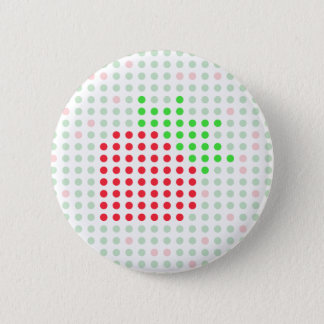 Strawberry 6 Cm Round Badge