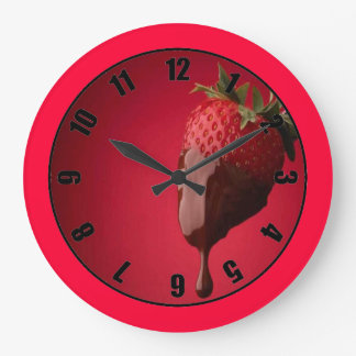 Strawberry and Chocolate Clock