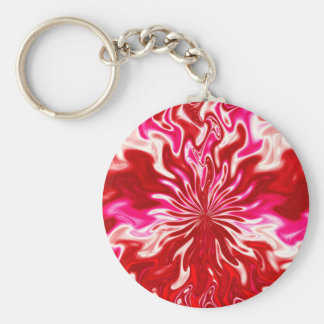 Strawberry and cream key ring