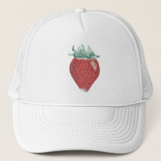 Strawberry Art Cap