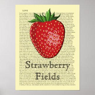Strawberry - Art Print