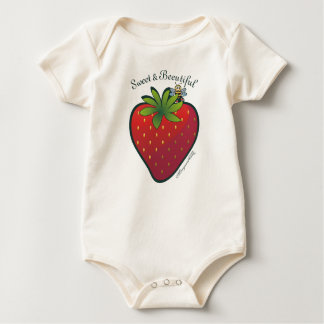 Strawberry Baby Bodysuit