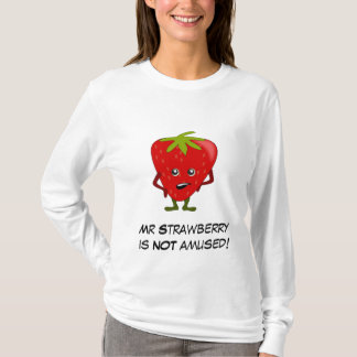 Strawberry Bad Fruit Gang with Customizable Slogan T-Shirt