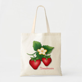Strawberry Canvas Bags