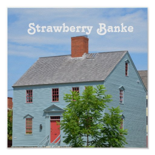 Strawberry Banke Poster