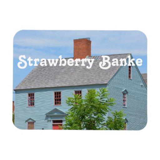 Strawberry Banke Vinyl Magnet
