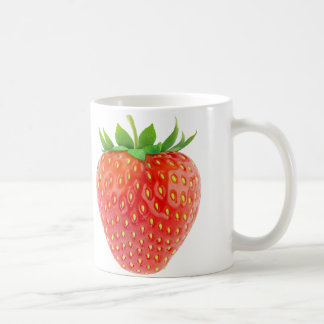 Strawberry Basic White Mug