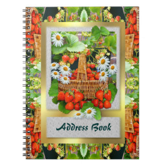 Strawberry Basket ~ Address Book