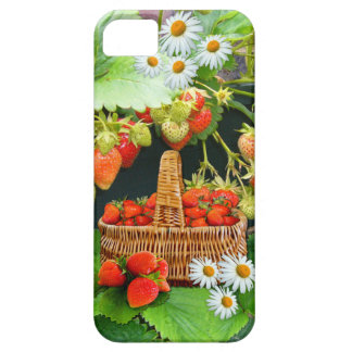 Strawberry Basket ~ Barely There ID/Credit Card iPhone 5 Cover