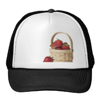 Strawberry Basket Mesh Hats