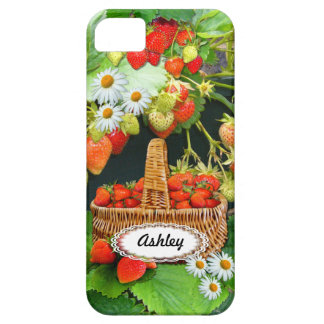 Strawberry Basket  ~ iPhone 5 Case