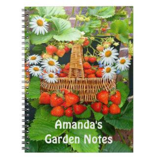 Strawberry Basket ~ Notebook