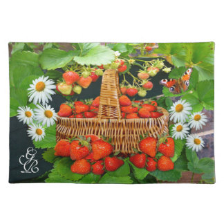 Strawberry Basket ~ Placemats