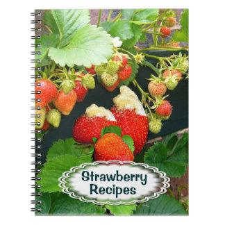 Strawberry Basket ~Recipe  Notebook