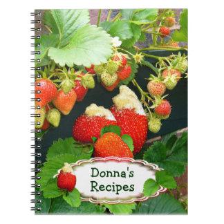 Strawberry Basket ~ Recipe  Notebook # 2