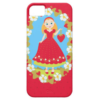 Strawberry Birthday Party Girl Case For The iPhone 5