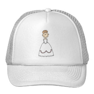 Strawberry Blond Bride Hat