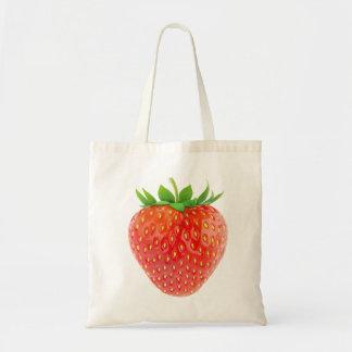 Strawberry Budget Tote Bag