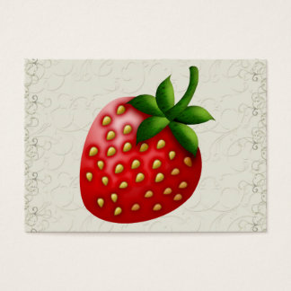 Strawberry Business / Gift Enclosure SRF Business Card