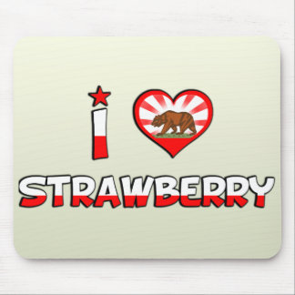 Strawberry, CA Mouse Pad