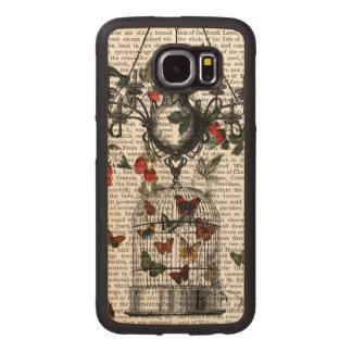 Strawberry Chandelier Wood Phone Case
