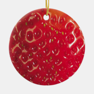 Strawberry Circle Ornament