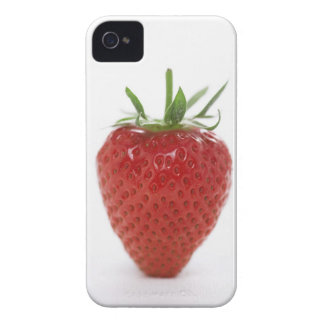 Strawberry, close-up iPhone 4 case