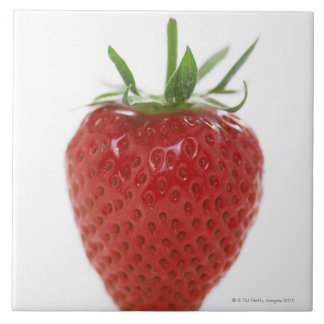 Strawberry, close-up tile