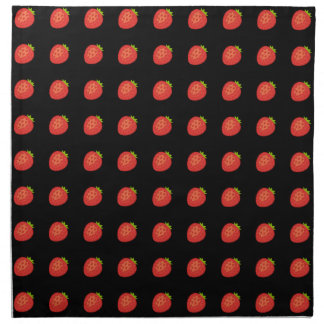 Strawberry Cloth Napkins