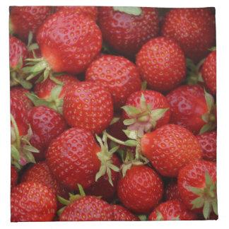 Strawberry Cloth Napkins Set