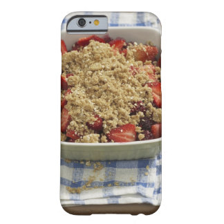 Strawberry cobbler barely there iPhone 6 case