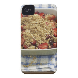 Strawberry cobbler Case-Mate iPhone 4 case
