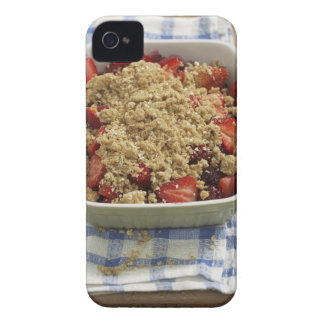 Strawberry cobbler Case-Mate iPhone 4 cases