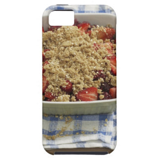 Strawberry cobbler iPhone 5 cover