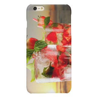 Strawberry cocktail iphone case iPhone 6 plus case