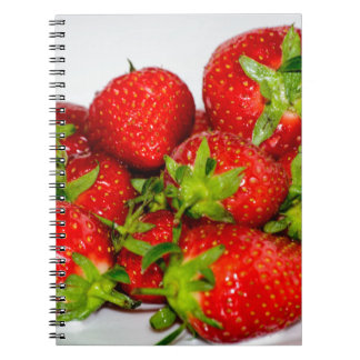 Strawberry Collection Spiral Notebook