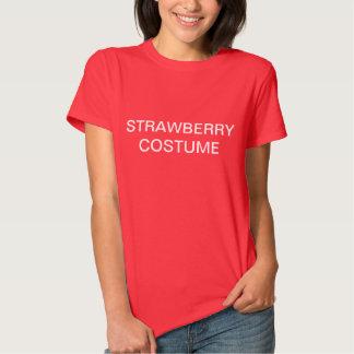 Strawberry Costume Tshirt