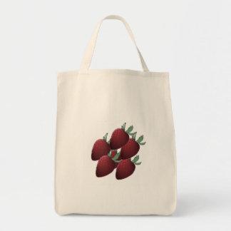Strawberry Crazy Tote Bag