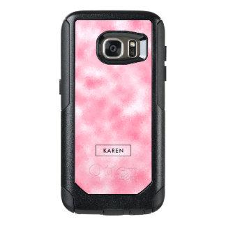 Strawberry & Cream Modern Abstract Background OtterBox Samsung Galaxy S7 Case