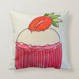 Strawberry Cupcake Cushion