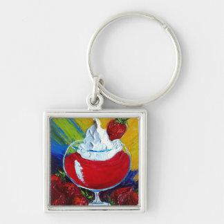 Strawberry Daiquiri Keychains