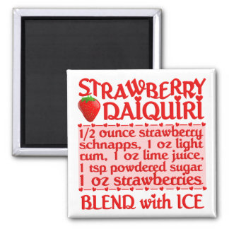 Strawberry Daiquiri magnet
