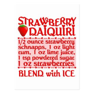 Strawberry Daiquiri postcard