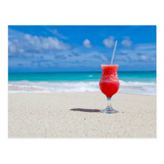 Strawberry Daiquiri Postcard
